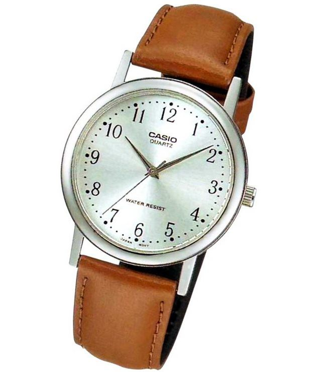 Casio watch simple and elegant female ltp 1095e 1a ltp